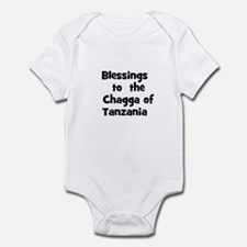 Blessings  to  the  Chagga of Infant Bodysuit