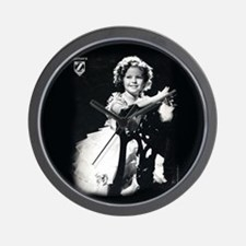 Shirley Temple Chair Wall Clock