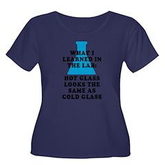 Lab Glass Plus Size T-Shirt