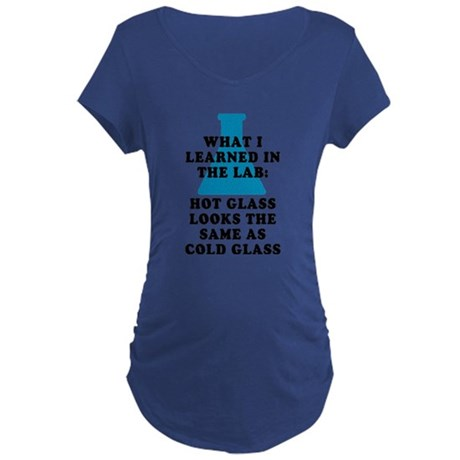 Lab Glass Maternity T-Shirt
