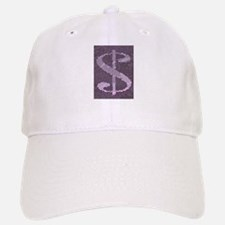 Mosaic Dollar Symbol Baseball Baseball Cap