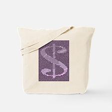Mosaic Dollar Symbol Tote Bag