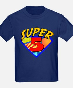 Superhero 5 Birthday T