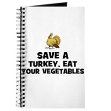 Save A Turkey, Eat Your Veget Journal