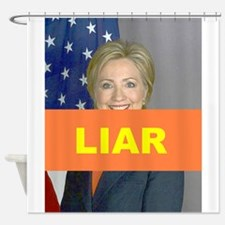 LIAR Shower Curtain