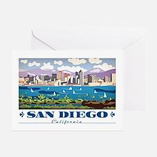 Cute San diego Greeting Card