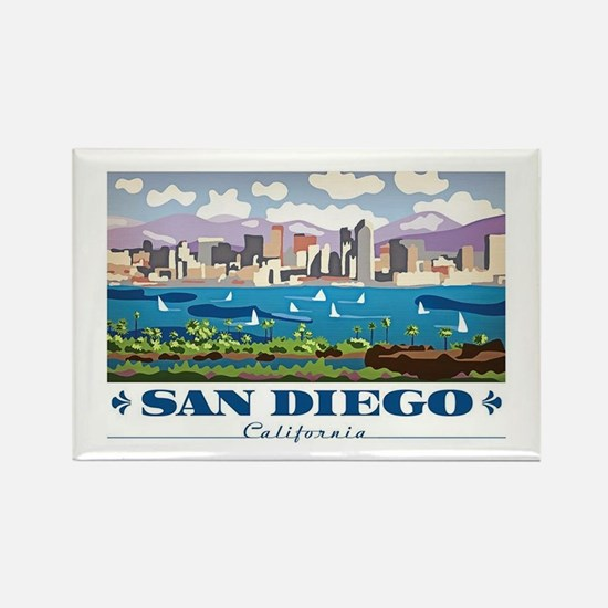 San diego gifts merchandise san diego gift ideas apparel cute san diego rectangle magnet negle Images