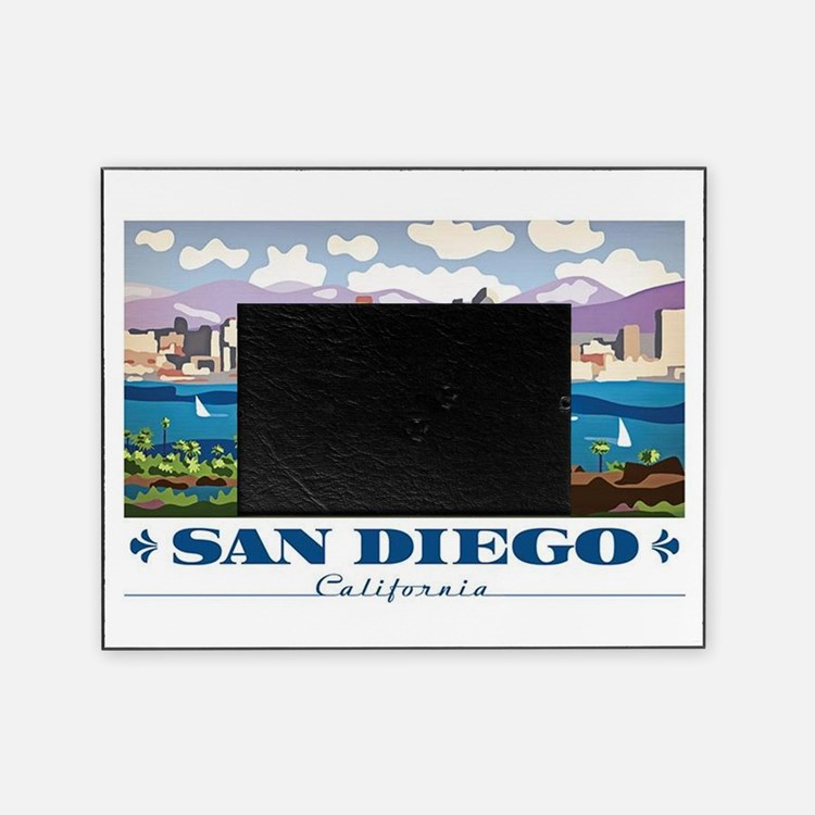 Cute San diego Picture Frame