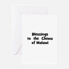 Blessings  to  the  Chewa of  Greeting Cards (Pk o