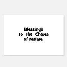 Blessings  to  the  Chewa of  Postcards (Package o