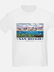 San Diego Skyline T-Shirt