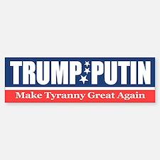 Trump Putin Bumper Bumper Stickers