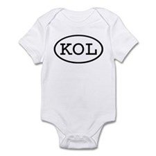 KOL Oval Infant Bodysuit