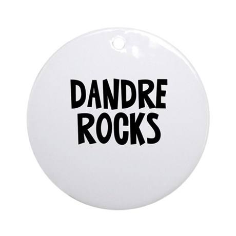 Dandre Rocks Ornament (Round)