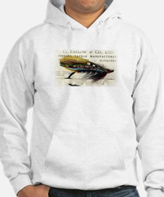 Farlow Salmon on Card Hoodie