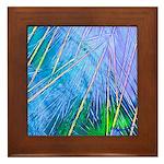 BLUE CRYSTAL Framed Tile