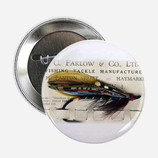 "Farlow Salmon on Card 2.25"" Button (10 pack)"