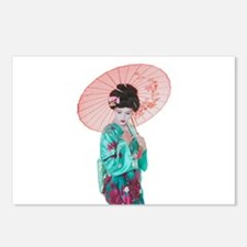 GEISHA Postcards (Package of 8)