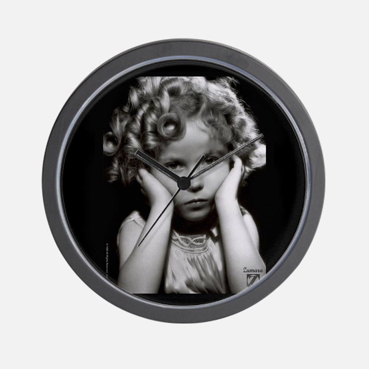 Shirley Temple Pout Wall Clock