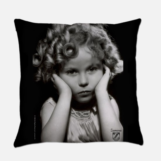 Shirley Temple Pout Everyday Pillow