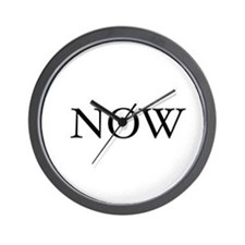 Now Clock (The time is Now) 2007 W.Cook