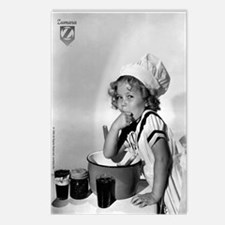 Shirley Temple Baking Postcards (Package of 8)