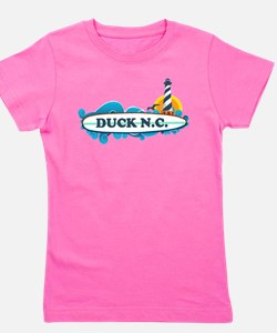 Unique Outer banks north carolina Girl's Tee