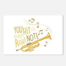 The Right Note Postcards (Package of 8)