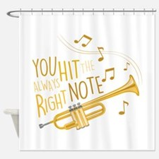The Right Note Shower Curtain