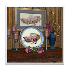 My Old Car Tile Coaster