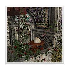 Romanesque Tile Coaster