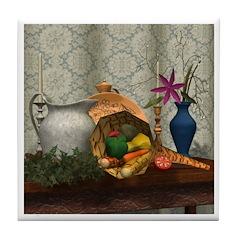 Cornucopia Tile Coaster