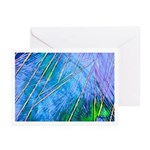 BLUE CRYSTAL  HOLIDAY CARD  Greeting Cards (P