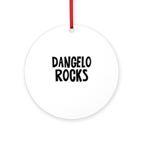 Dangelo Rocks Ornament (Round)