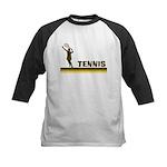 Retro Womens Tennis Kids Baseball Jersey