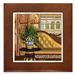 Flight Of The Swan (Eclectic) Framed Tile