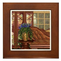 Flight of the Swan (Elegant) Framed Tile