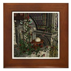 Romanesque Balcony Framed Tile