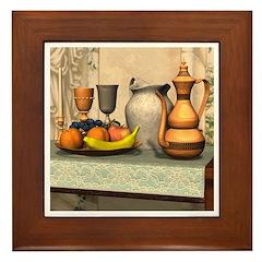 Be Our Guest Framed Tile
