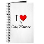 I Love My City Planner Journal