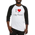 I Love My City Planner Baseball Jersey