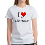 I Love My City Planner Women's T-Shirt