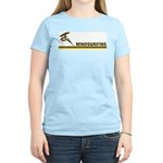 Retro Windsurfing Women's Light T-Shirt