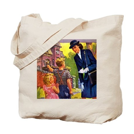 VISITING NURSE Tote Bag