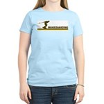 Retro Wakeboarding Women's Light T-Shirt