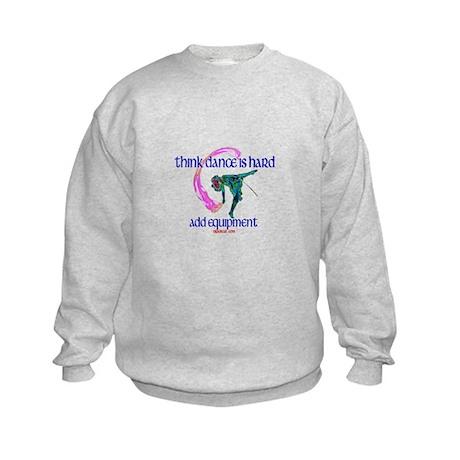 Dance with Equipment Kids Sweatshirt