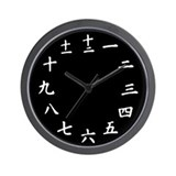 Chinese number Wall Clocks