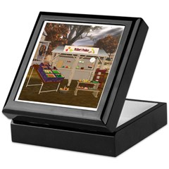 The Vegetable Stand Keepsake Box
