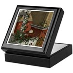 Summer Siesta Balcony Keepsake Box