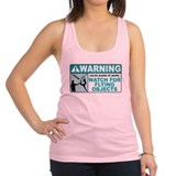 Color guard Womens Racerback Tanktop